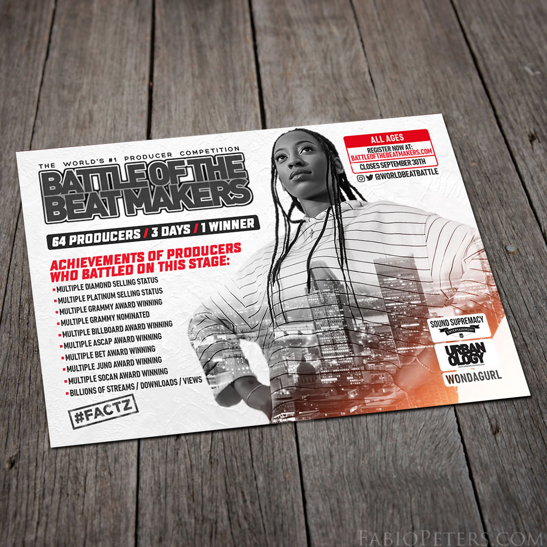 Battle of the BeatMakers Ad