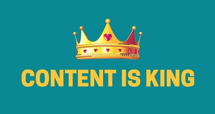 Content is king google SEO