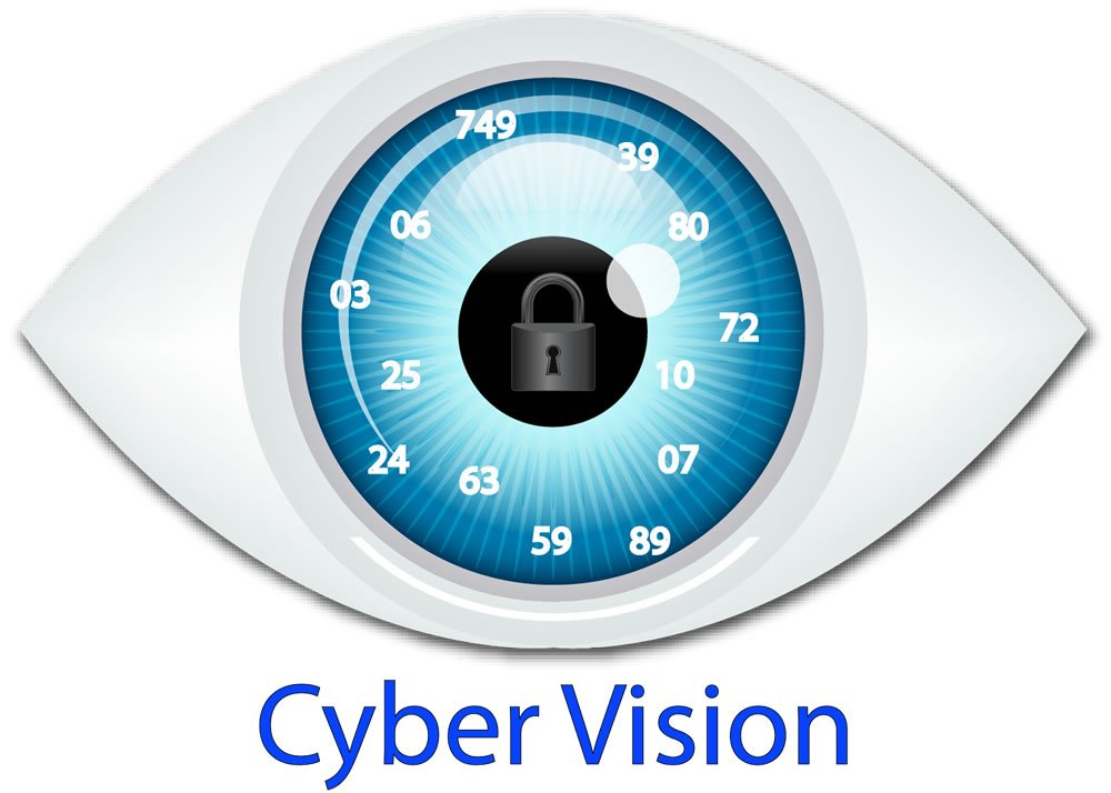 Cyber Vision Custom Logo Design