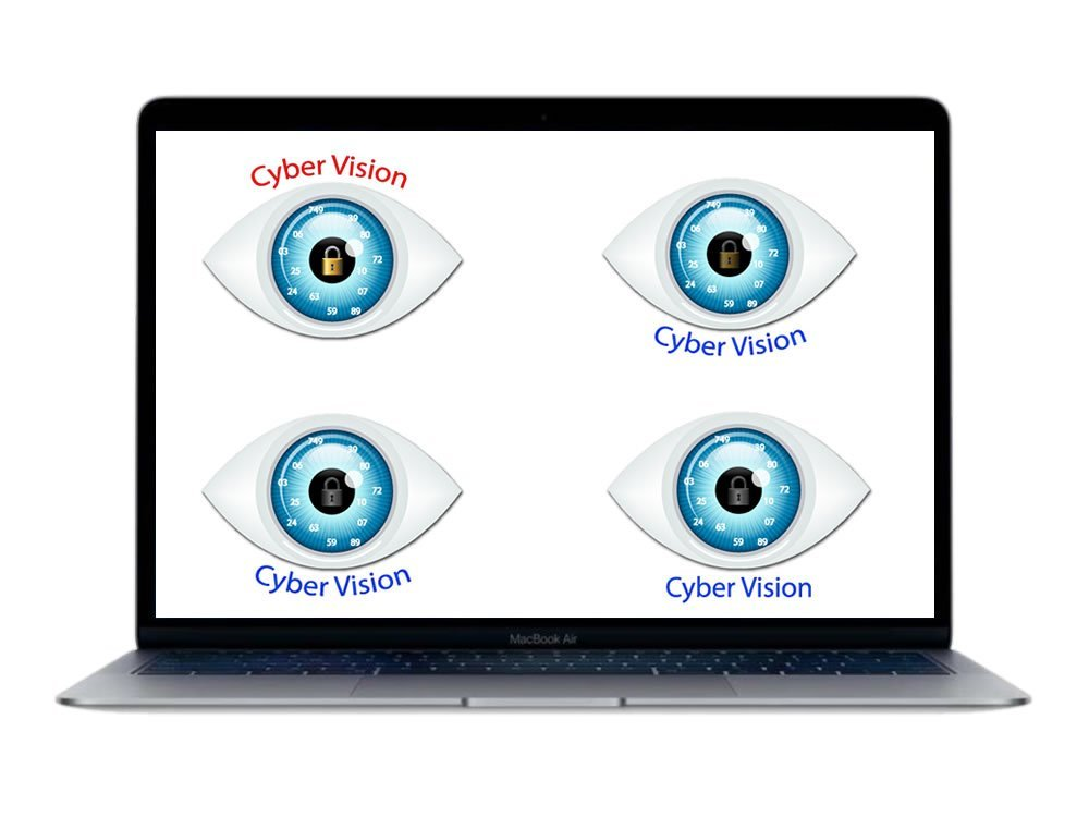 Cyber Vision Logo Variations