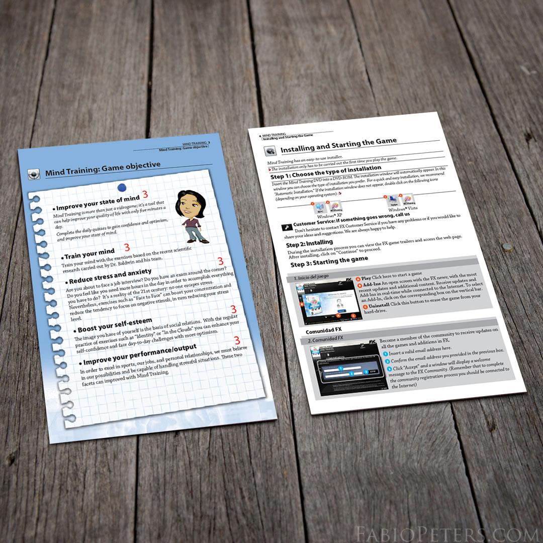 MindHabits Inside Page Layout Design
