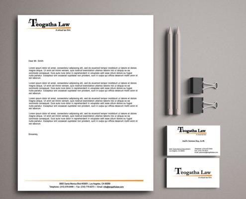 Teogatha Law Corporate Identity