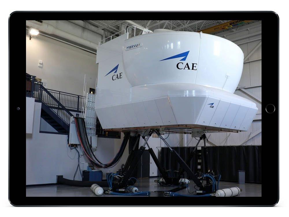 Flight simulator elearning design