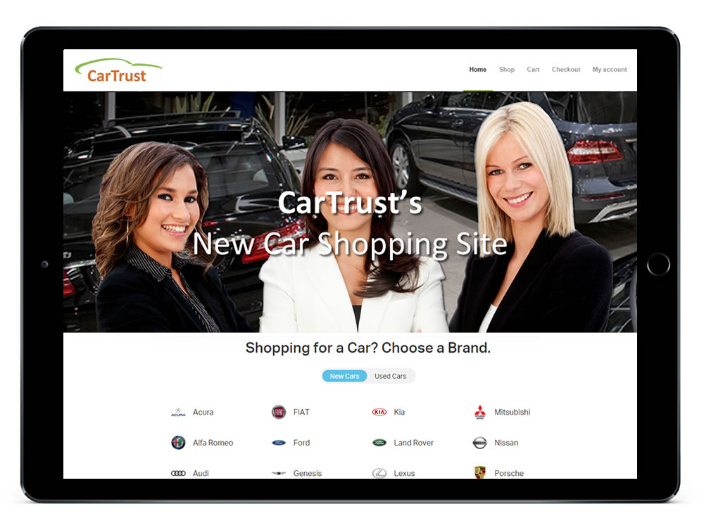 CarTrust Responsive Web Design