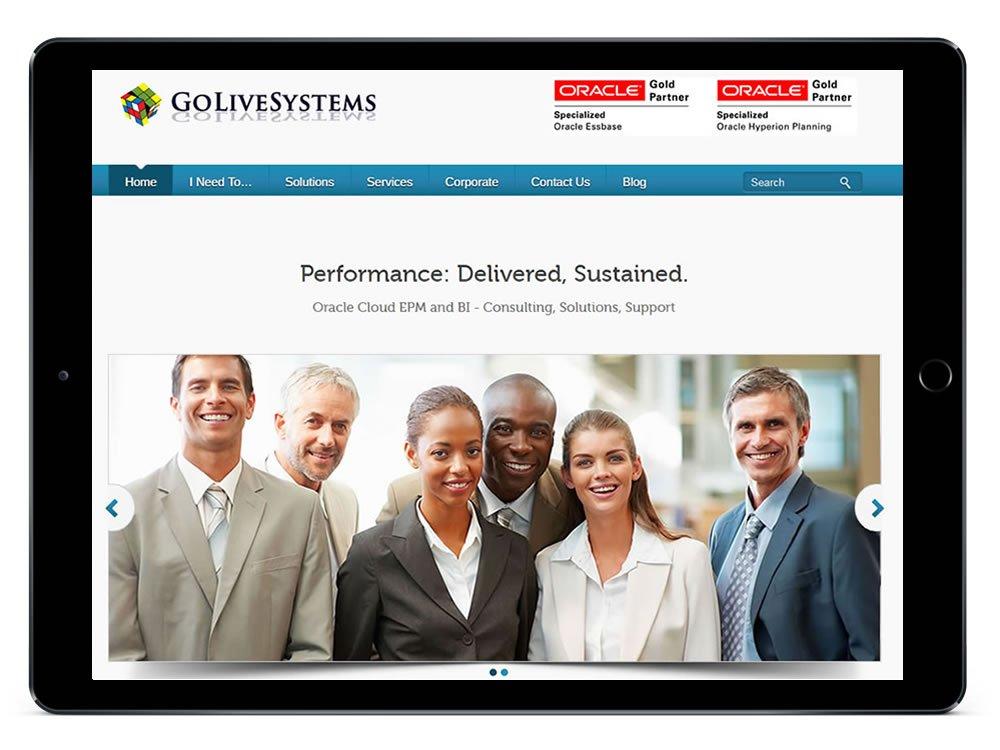 GoLiveSystems inc Web Design