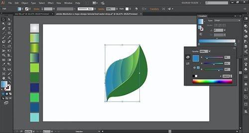 Creating a custom logo in Adobe Illustrator